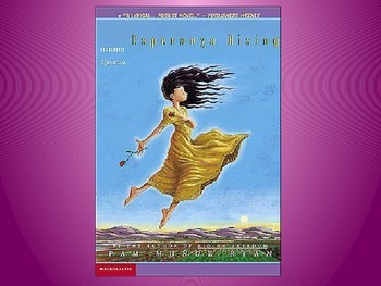Engage NY Esperanza Rising Lesson 16