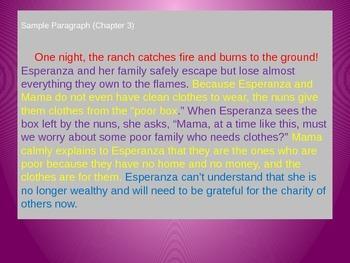 Engage NY Esperanza Rising Lesson 17