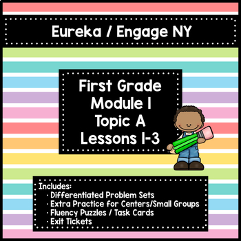 Engage Ny First Grade Module 1 Math Assessments & Worksheets