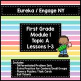 Engage NY/Eureka 1st Grade Module 1 Topic A Lessons 1-3 —