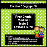 Engage NY/Eureka 1st Grade Module 1 Topic E Lessons 17-20 — Differentiated Pack