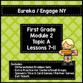 Engage NY/Eureka 1st Grade Module 2 Topic A Lessons 7-11 — Differentiated Pack
