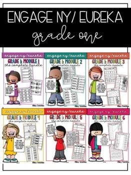 Engage NY/ Eureka First Grade: ALL MODULES BUNDLE