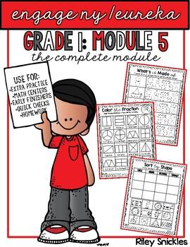 Engage NY/ Eureka Grade 1: ALL of MODULE 5