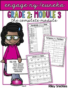 Engage NY/ Eureka Grade 2: Module 3- The GROWING Bundle
