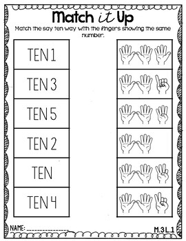 Engage NY/ Eureka Kindergarten: Module 3- Lessons 1-5