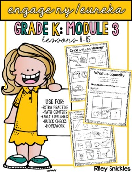 Engage NY/ Eureka Kindergarten: Module 3- Lessons 11-15
