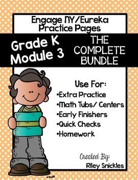 Engage NY/ Eureka Kindergarten: Module 3- The GROWING Bundle