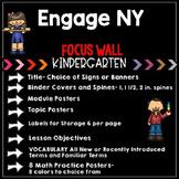 Engage NY Eureka MATH FOCUS WALL - Kindergarten