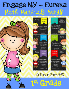 Engage NY / Eureka Math 1st Grade Modules 1-6 Supplemental Materials