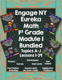 Engage NY {Eureka} Math 1st Grade Module 1 Bundled!