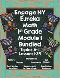 Engage NY {Eureka} Math 1st Grade Module 1 Bundled!