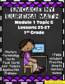 Engage NY {Eureka} Math 1st Grade Module 1 Topic G Lessons 25-27