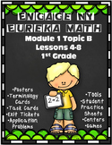 Engage NY {Eureka} Math 1st Grade Module 1 Topic B Lessons 4-8
