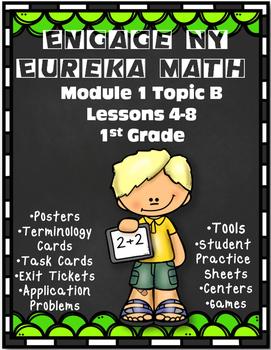 Engage NY {Eureka} Math 1st Grade Module 1 Topic B Lessons 4-8