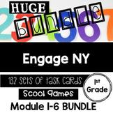 Engage NY Eureka Math-1st grade Module1-6 BUNDLE TaskCards/ Scoot Games