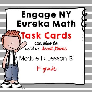 Engage NY Eureka Math (1st grade) Module 1 Lesson 13 Task