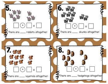 Engage NY Eureka Math (1st grade) Module 1 Lesson 14 Task Cards -Scoot Game