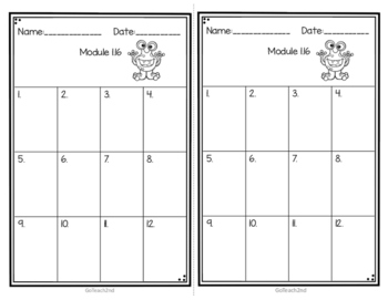 Engage NY Eureka Math (1st grade) Module 1 Lesson 16 Task Cards