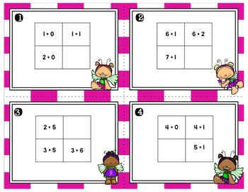 Engage NY Eureka Math (1st grade) Module 1 Lesson 22 Task Cards
