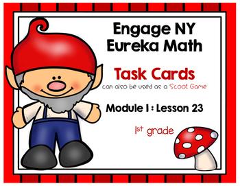 Engage NY Eureka Math (1st grade) Module 1 Lesson 23 Task Cards