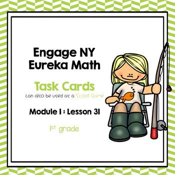 Engage NY Eureka Math (1st grade) Module 1 Lesson 31 Task Cards