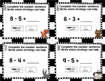 Engage NY Eureka Math (1st grade) Module 1 Lesson 35 Task Cards