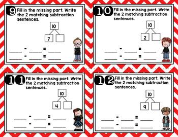Engage NY Eureka Math (1st grade) Module 1 Lesson 36 Task Cards