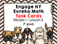 Engage NY Eureka Math (1st grade) Module 1 Lesson 5 Task Cards -Scoot Game