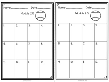 Engage NY Eureka Math (1st grade) Module 2 Lesson 15  Task Cards & Scoot Game