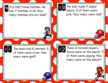 Engage NY Eureka Math (1st grade) Module 2 Lesson 22 Task Cards & Scoot Game