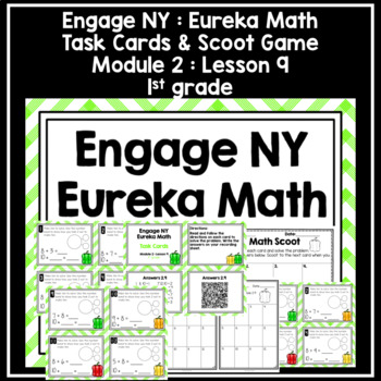 Engage NY Eureka Math (1st grade) Module 2 Lesson 9 Task Cards