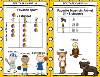 Engage NY Eureka Math (1st grade) Module 3 Lesson 12&13 Task Cards & Scoot Game