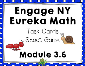 Engage NY Eureka Math (1st grade) Module 3 Lesson 6 Task Cards & Scoot Game