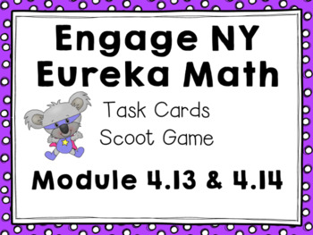 Engage NY Eureka Math (1st grade)Module 4 Lesson 13 & 14 Task Cards & Scoot Game