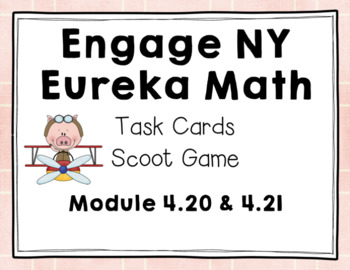 Engage NY Eureka Math (1st grade) Module 4 Lesson 20 & 21 Task Cards/Scoot Game