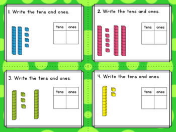 Engage NY Eureka Math (1st grade) Module 4 Lesson 2 Task Cards and Scoot Game