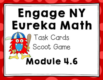 Engage NY Eureka Math (1st grade) Module 4 Lesson 6 Task Cards & Scoot Game