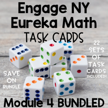 Engage NY Eureka Math (1st grade) Module 4 TASK CARDS & SCOOT GAMES LESSONS 1-29