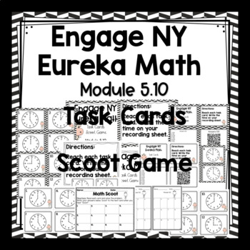Engage NY Eureka Math (1st grade) Module 5 Lesson 10  Task Cards/ Scoot Game