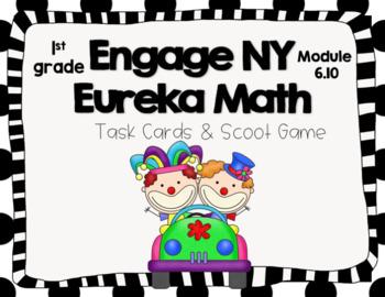 Engage NY Eureka Math (1st grade) Module 6 Lesson 10 Task Cards