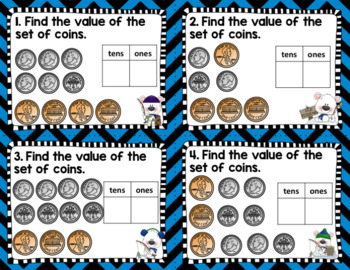 Engage NY Eureka Math -1st grade Module 6 Lesson 24 Task Cards/Scoot Game