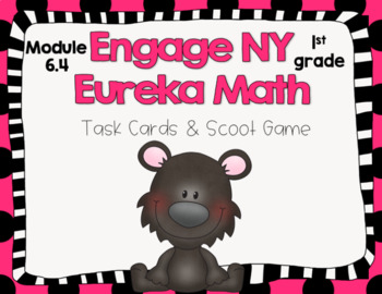 Engage NY Eureka Math (1st grade) Module 6 Lesson 4 Task Cards