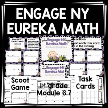 Engage NY Eureka Math (1st grade) Module 6 Lesson 7 Task Cards
