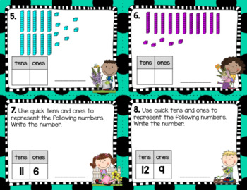 Engage NY Eureka Math (1st grade) Module 6 Lesson 9 Task Cards