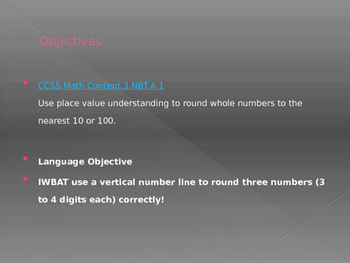 Engage NY / Eureka Math 3rd Grade Module 1 Lesson 1 PowerPoint