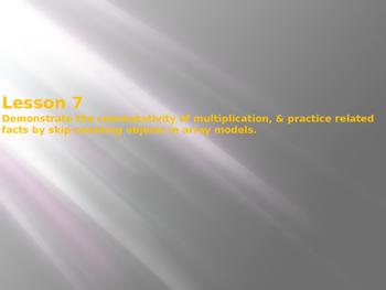 Engage NY / Eureka Math 3rd Grade Module 1 Lesson 7 PowerPoint