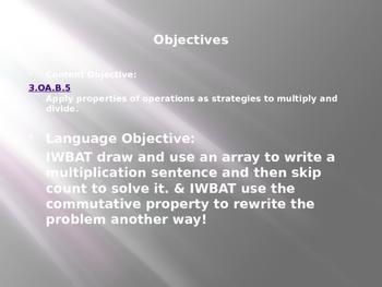 Engage NY / Eureka Math 3rd Grade Module 1 Lesson 8 PowerPoint