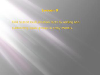Engage NY / Eureka Math 3rd Grade Module 1 Lesson 9 PowerPoint