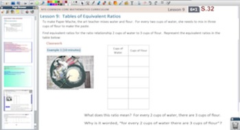Engage NY Eureka Math 6th Grade Math Module 1 Topic B for Promethean Boards